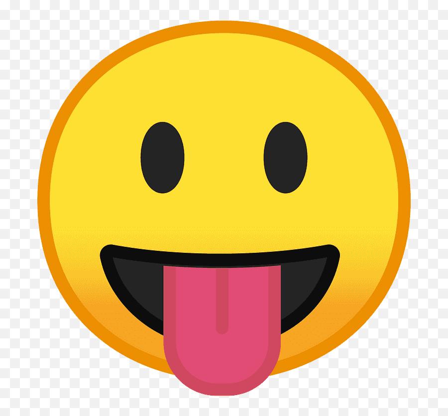 Face With Tongue Emoji Clipart - Emoji,Zany Face Emoji