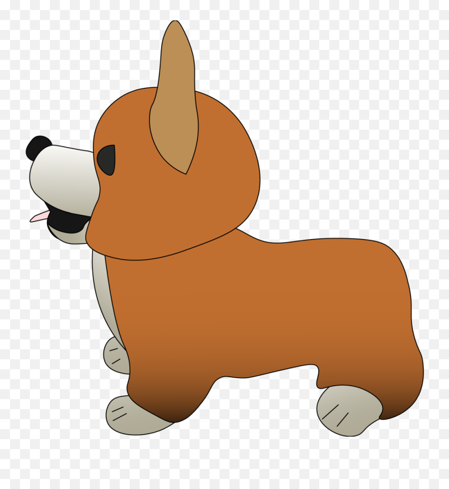 Chwiggys World - Pembroke Welsh Corgi Emoji
