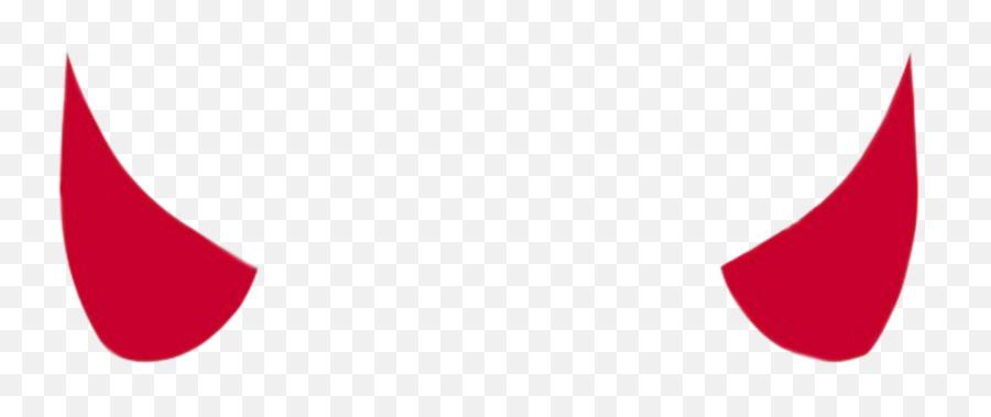 Zero Two Zerotwo Horns Redhorns Red Horn - Transparent Background Devil Horn Png Emoji