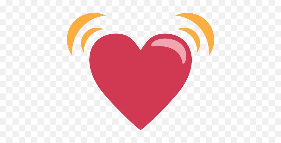 Emojione1 1f493 - Heart Emoji,Sparkling Heart Emoji