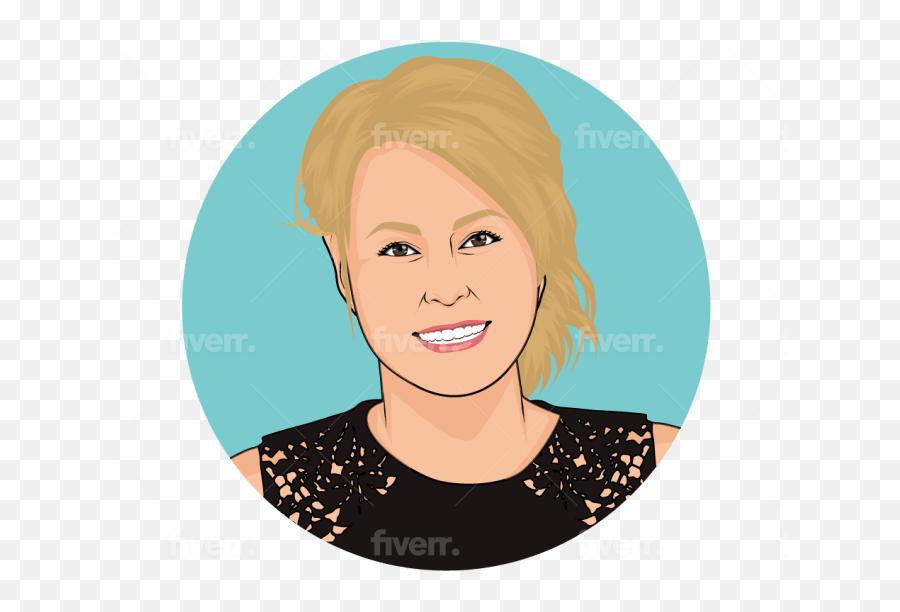 Do Making An Emoji With Big Head For You - For Women,Headshot Emoji
