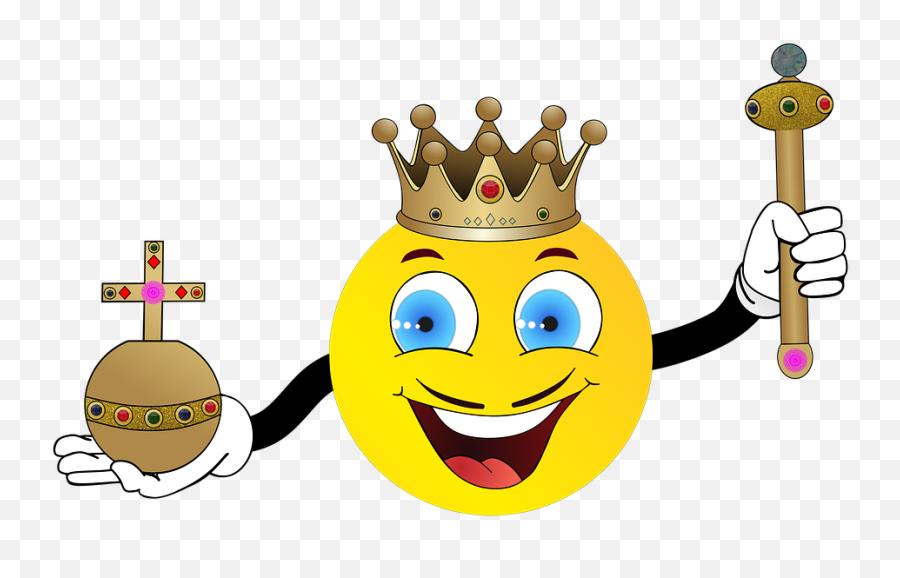 Monarchy Crown Jewels - Smiley Emoji,Crown Emoticon