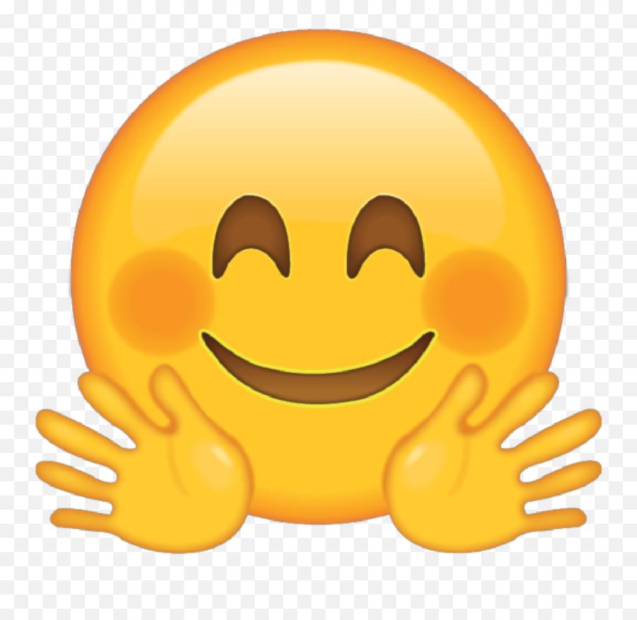 Face Huggingface Huggingfaceemoji Emoji - Happy Face Emoji,Anime Face Emoji