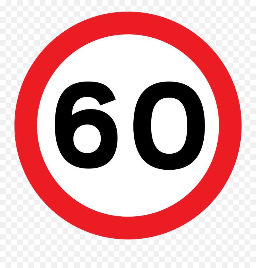 Uk Traffic Sign 670v60 - Road Sign Speed Limit Emoji,Crown Emoticon