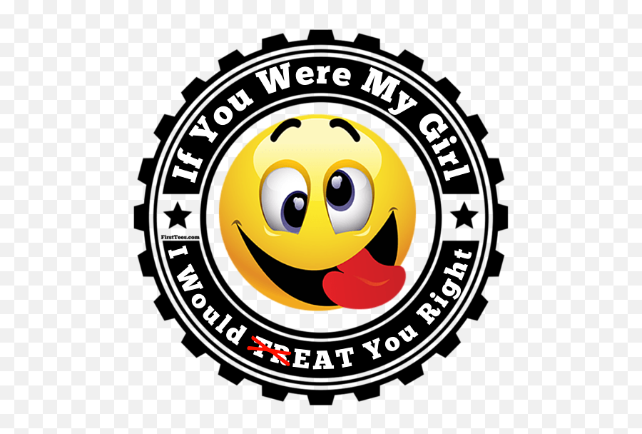 Eat Her Right Shower Curtain - Peace Love Unity Logo Emoji,Lewd Emoticon
