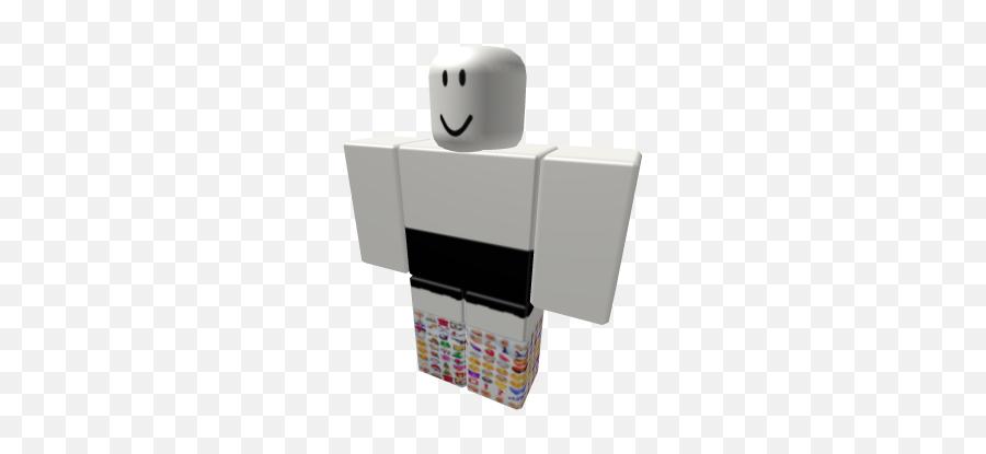 Black Circle Sox - Roblox Shorts With Vans Emoji