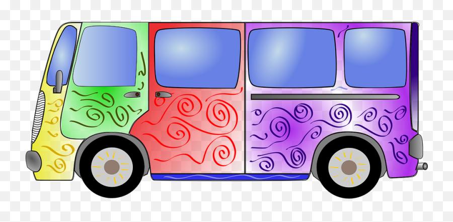Free Hippie Van Illustrations - Años 60 Png Emoji