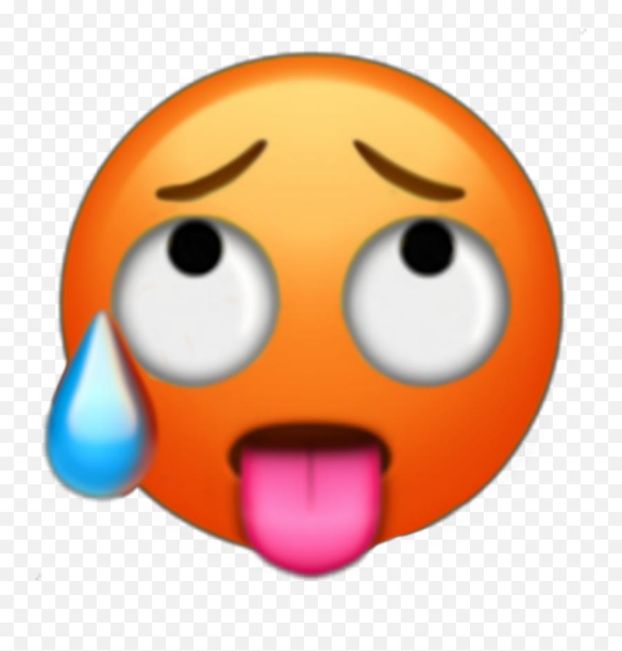 Ahegao Emoji Emoji Aesthetic Ahegaoface Ahegao Lewd Vul - Ahegao Emoji Png,Ahegao Emoji