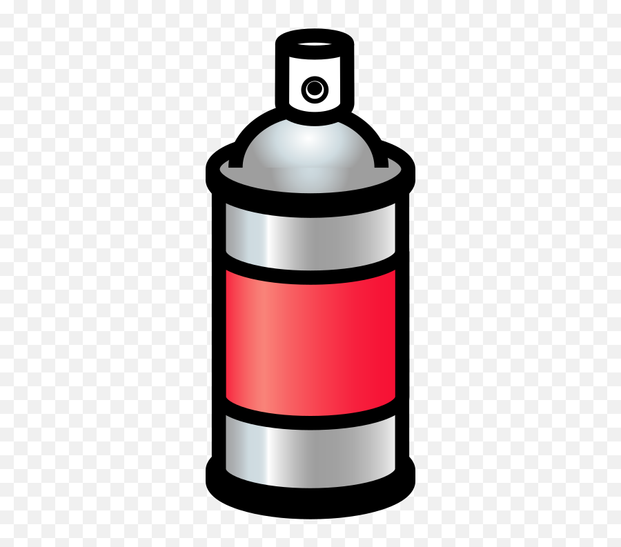 Spray Can Red - Spray Cans Emoji