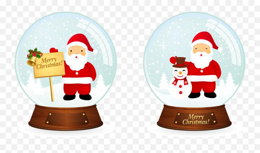 Vector Santa Christmas Snowballs - I I Heart Christmas Santa Png Clipart Merry Christmas Santa Png Emoji,Santa Clause Emoticon