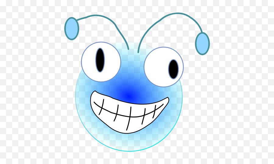 Bugs Head - Cartoon Bugs With Antennas Emoji