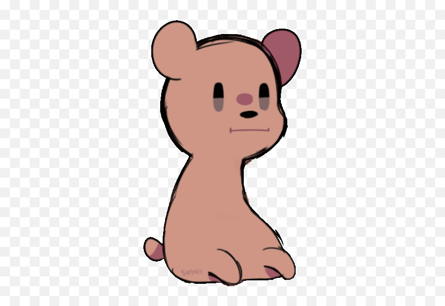 Bear Dood Without Arms Jamming - Dood Gif Emoji