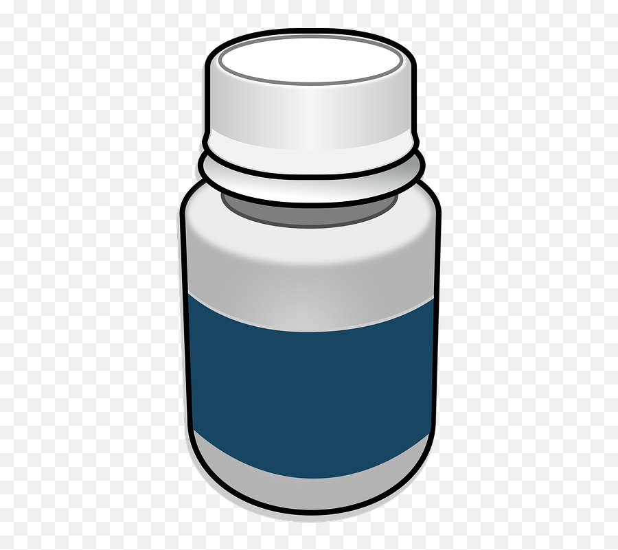 Free Pharmacy Medicine Vectors - Transparent Background Pill Bottle Clipart Emoji