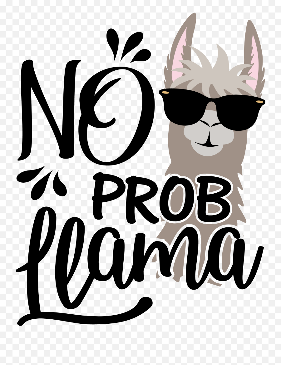 Llama Png - No Prob Llama Png Emoji,Llama Emoji Iphone