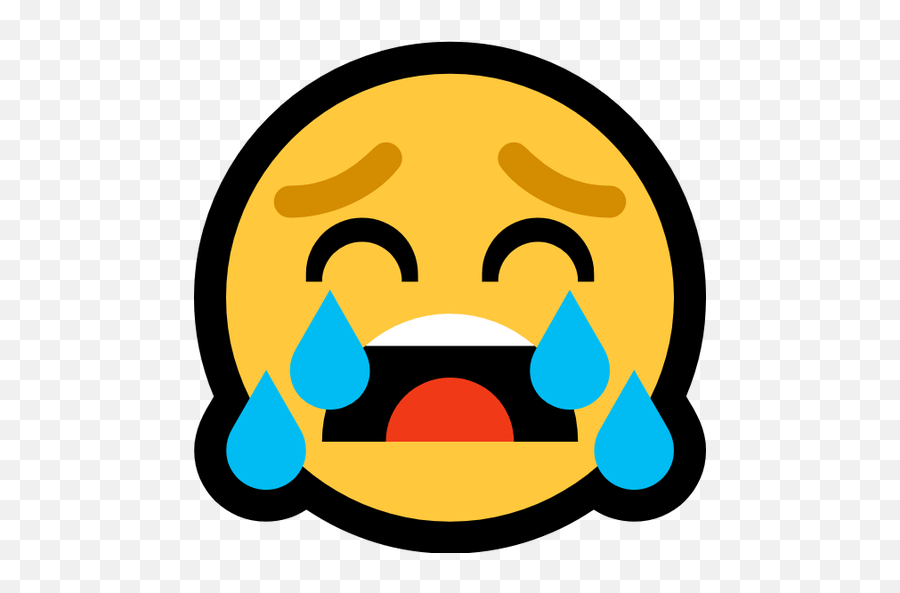 Emoji Image Resource Download,Loudly Crying Emoji