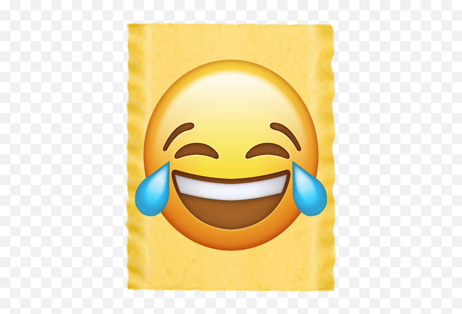 Laughing Tears - Face With Tears Of Joy Emoji,Raspberry Emoticon