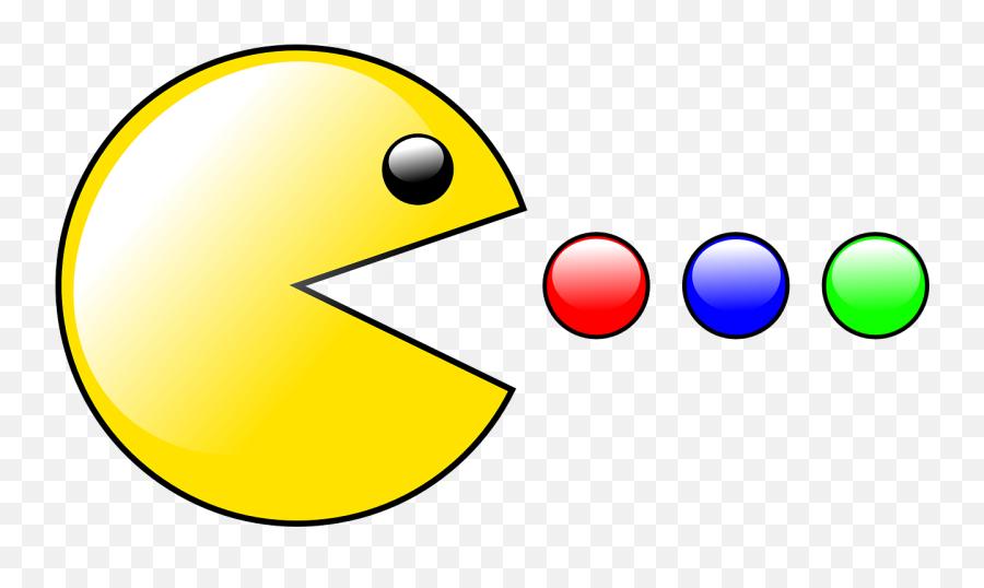 Paul Man Game Computer Entertainment - Pac Man Clip Art Free Emoji,Crown Emoticon
