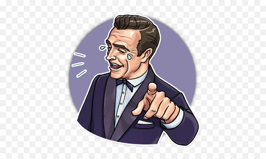 Wastickerapps - Brad Pitt Sticker Telegram Emoji,Pewdiepie Emojis