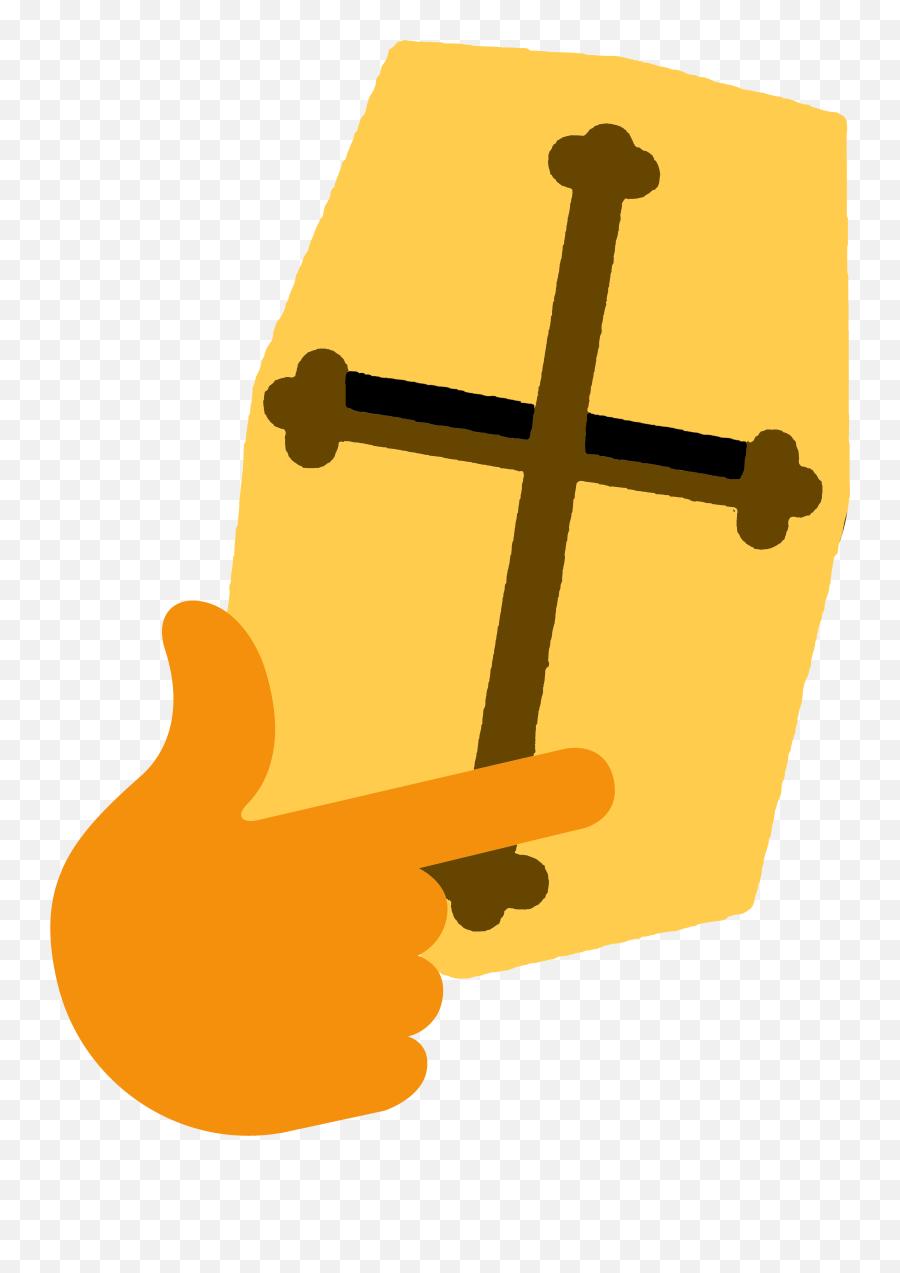 Thinking - Deus Vult Discord Emoji