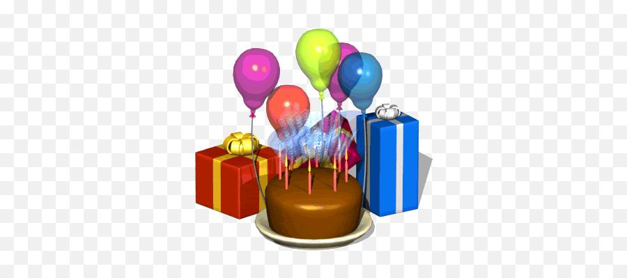 Happy Birthday - Animated 3d Gif Happy Birthday Gif Emoji