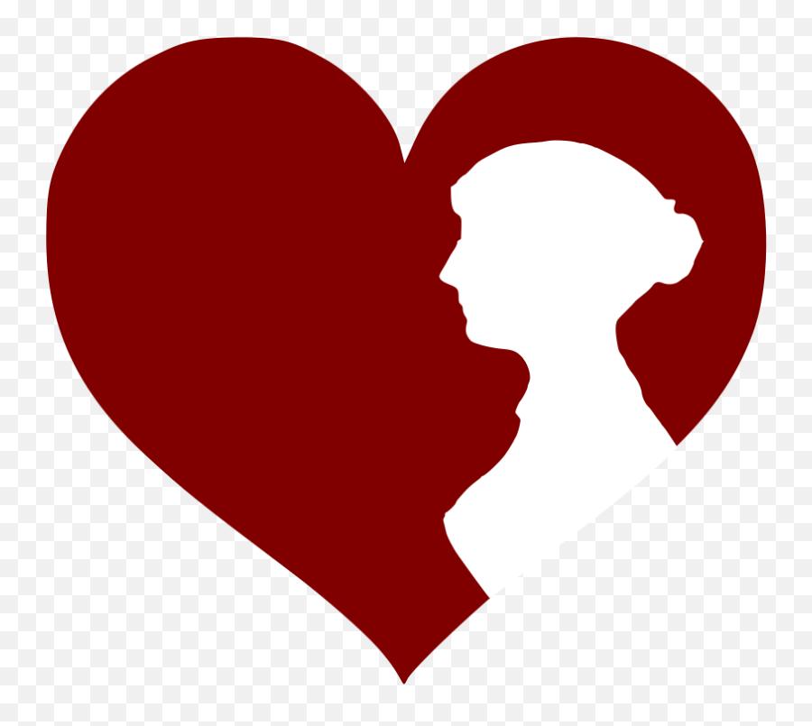 Women In Red Logo - Jane Austen Clipart Emoji,Sparkling Heart Emoji