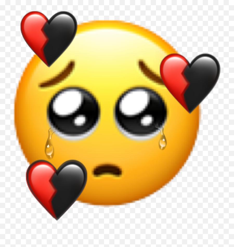 Popular And Trending Tears Stickers On Picsart - Cartoon Emoji,Tearful Emoji