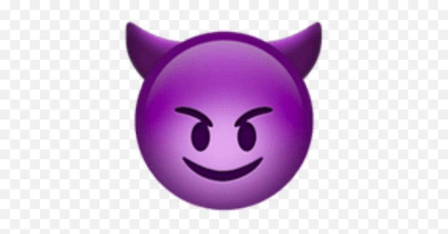 Download Purple Devil Emoji Png - Purple Devil Emoji Ios
