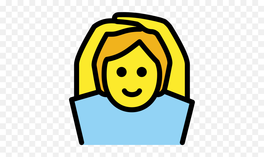 Face With Ok Gesture - Gesture Emoji