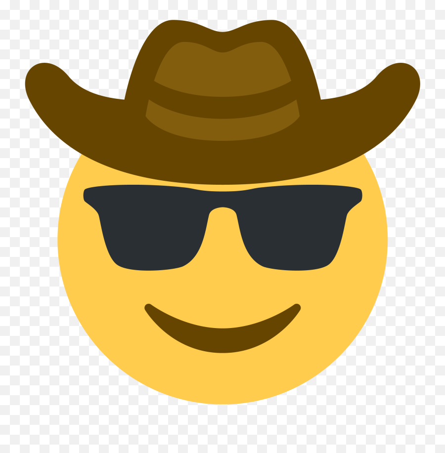 Cowboy Sunglasses Emoji Discord