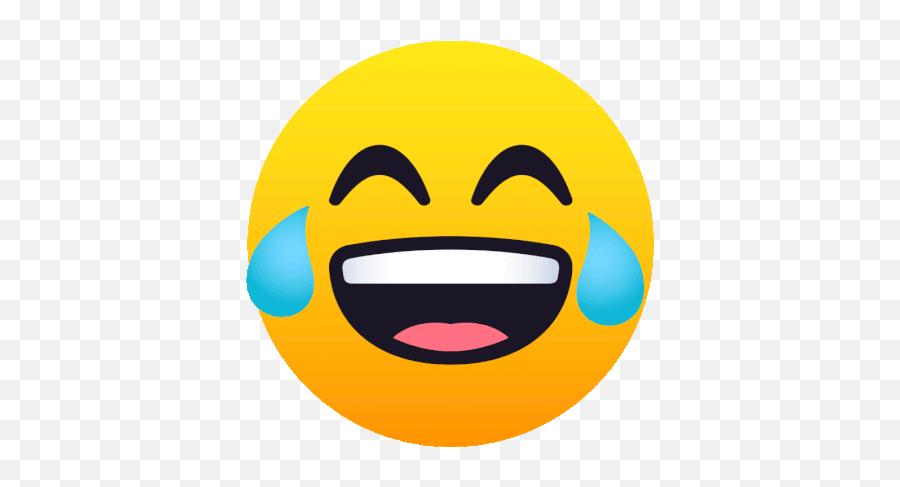 Face With Tears Of Joy Joypixels Gif - Joy Pixels Gif Emoji,Crying While Laughing Emoji