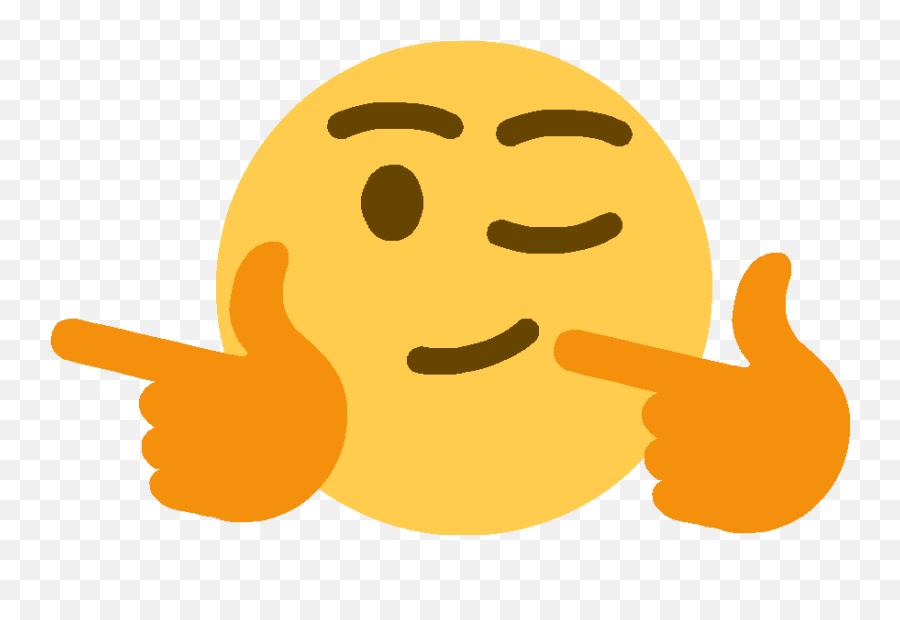 Fingergunsleft - Finger Guns Emoji Png