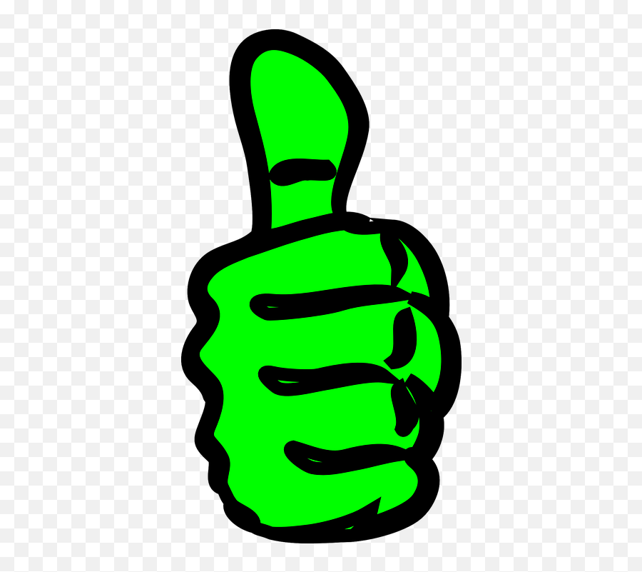 Free Like Thumbs Up Vectors - Thumbs Up Clipart Emoji