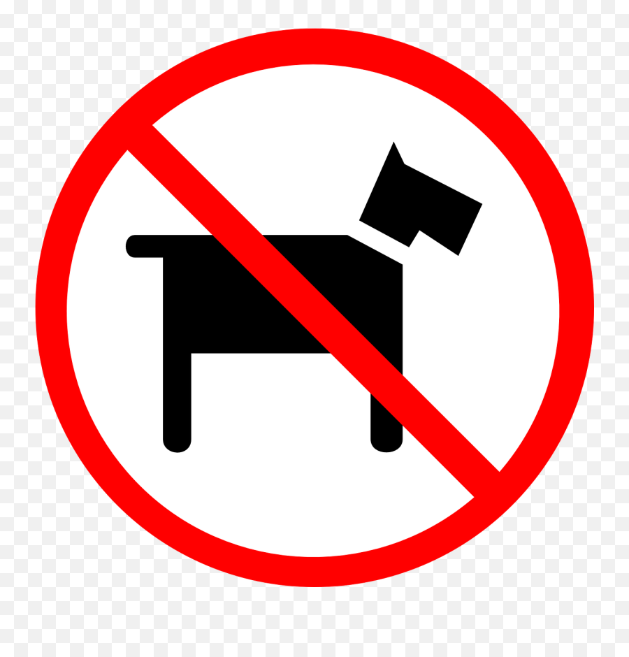 No Pets Allowed Dogs Sign - No Dogs Allowed Sign Clip Art Emoji,Crown Emoticon