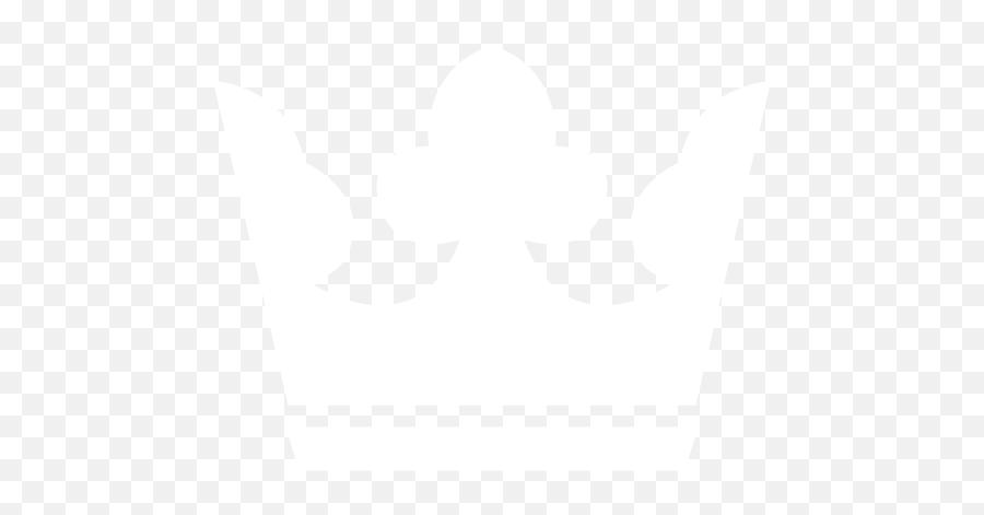 White Crown 2 Icon - Free White Crown Icons White Crown Symbol Png Emoji,Crown Emoticon
