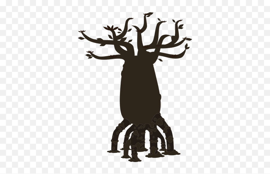 Firebug Bottle Tree Silhouette Vector - Silhouette Emoji,Christmas Tree Emoticon