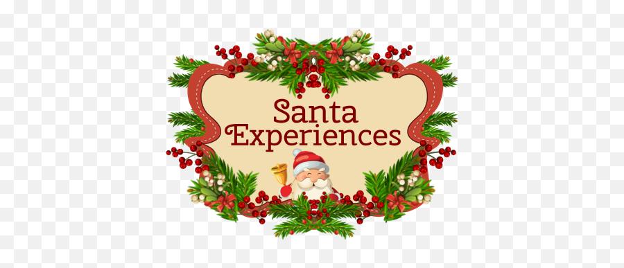 Hrsc Exclusive Sc Initial Ring Santa Experience Santa - Clip Art Emoji,Santa Clause Emoticon
