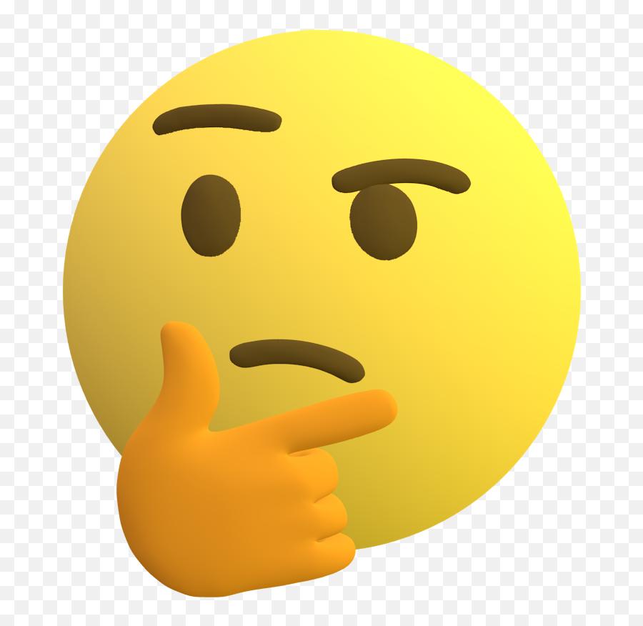 Thinking Emoji - Emoji Discord Free Download Png,Lewd Emoticon
