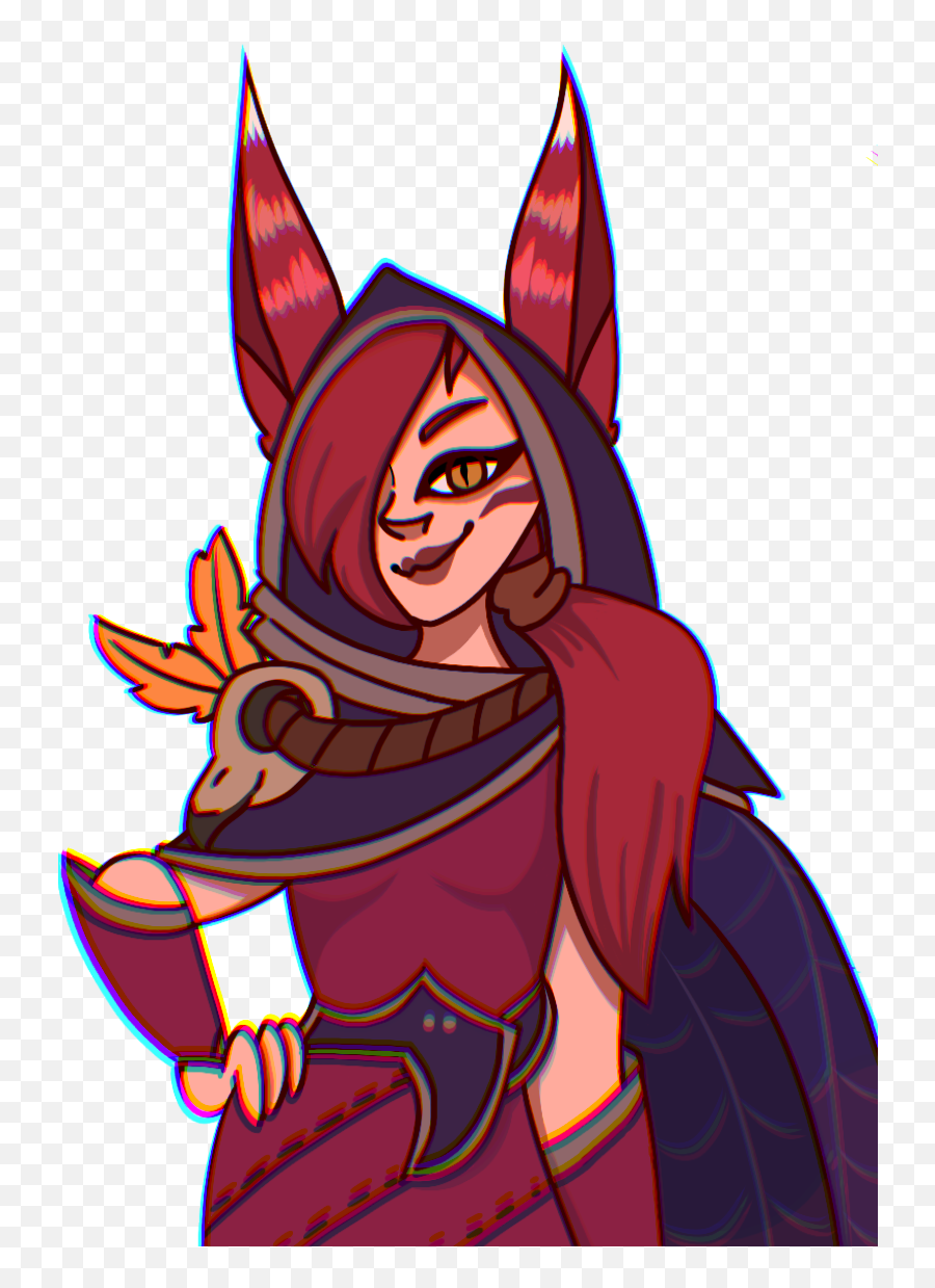 Xayah Aka Feather Gf - Cartoon Emoji