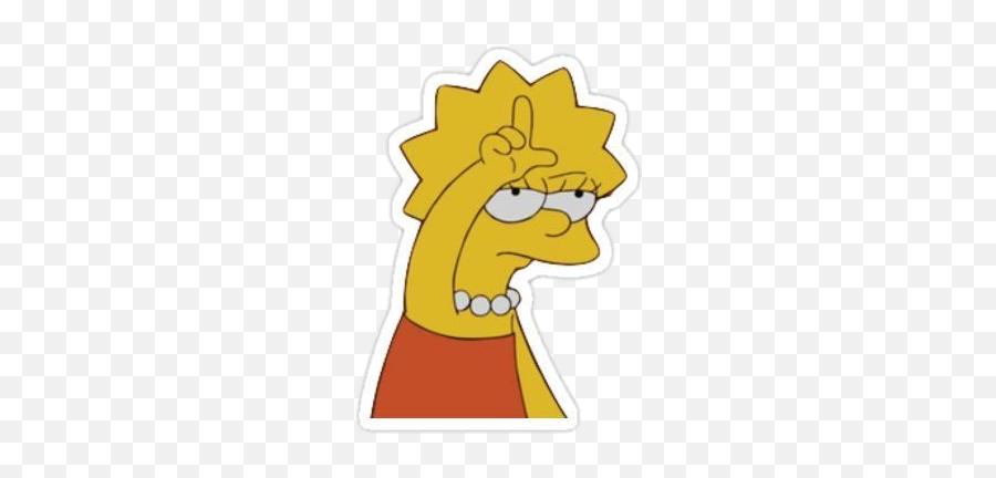 And Trending Episodes Stickers - Lisa Simpson Loser Transparent Emoji,Spongebob Emoji Iphone