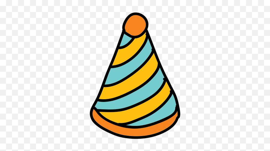 Party Hat Icon - Free Download PNG and Vector Emoji