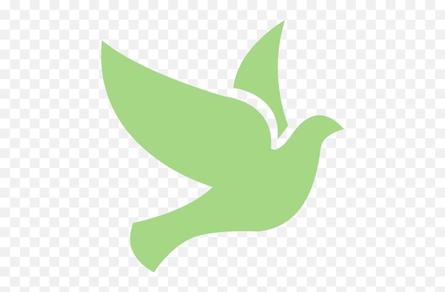 Guacamole Green Bird 2 Icon - Free Guacamole Green Bird Icons Green Bird Icon Png Emoji,Snowflake Sun Leaf Leaf Emoji