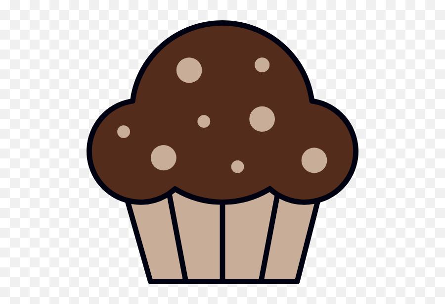 Chocolate Cupcake Graphic - Clip Art Picmonkey Graphics Clip Art Emoji,Iphone Cake Emoji