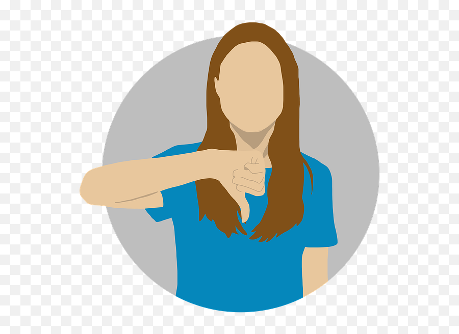 Thumbs Down Bad Dislike - Thumb Emoji