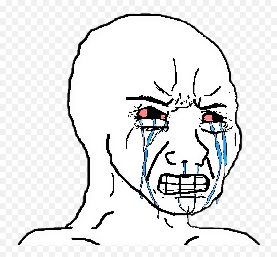 Troll Angry Crying Meme Depressed - Crying Meme Face Png Emoji,Angry Crying Emoji Meme