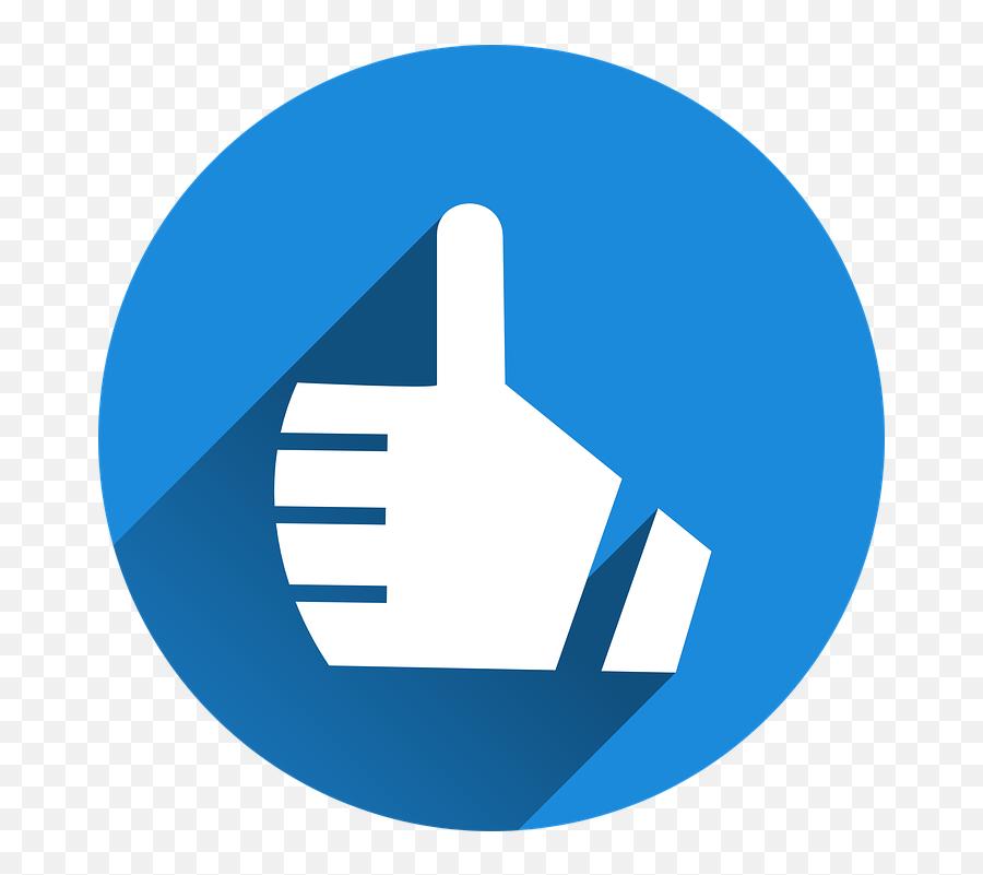 Thumb Is Still Top Like Hand - Top Like Emoji