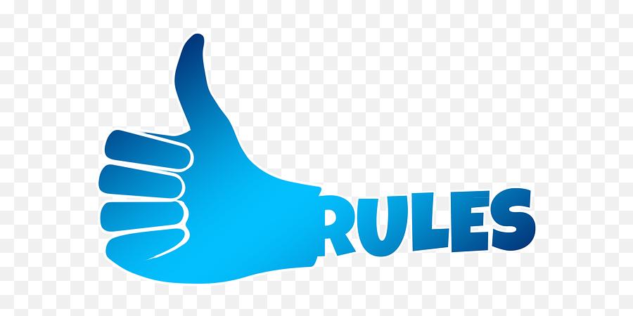 Rules Like Thumb - Like Thumb Logo Png Emoji