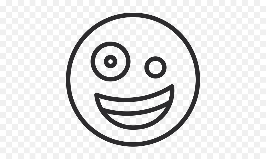 Zany Face - Smiley Emoji,Zany Emoji