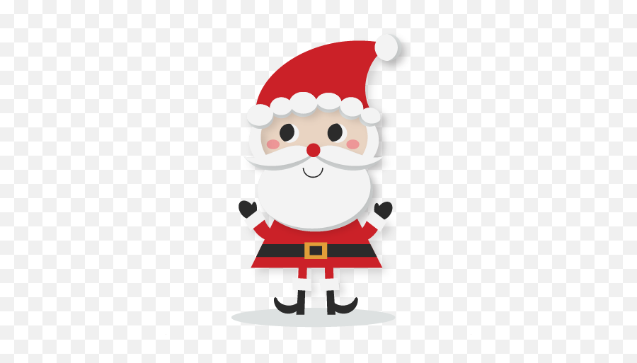 Gallery Free Clipart Picture Christmas - Cute Santa Clip Art Emoji,Santa Clause Emoji