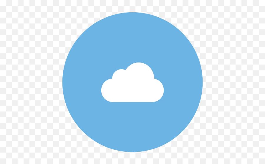 Mobile Icon - Flat Social Media Icons Set Round Style Emoji,Tearful Emoji