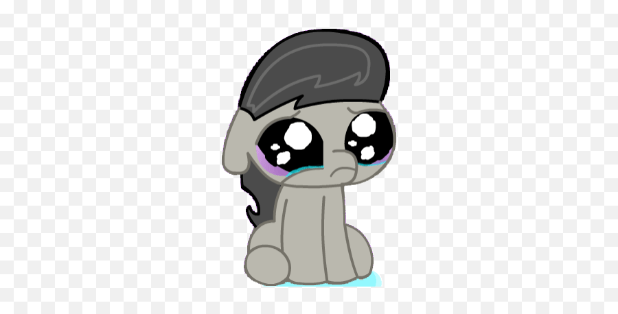 Top Cant Watch This Scene Without Crying Stickers For - Rainbow Dash Baby Pony Emoji,Tearful Emoji